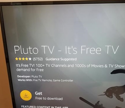 How To Install Pluto TV to an Amazon Fire TV Stick Step 4