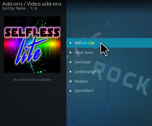 How To Install Selfless Lite Kodi Addon Step 17