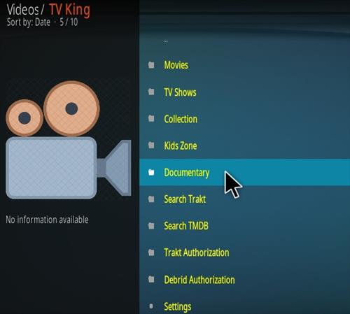 How To Install TV King Kodi Addon Overview