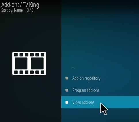 How To Install TV King Kodi Addon Step 16