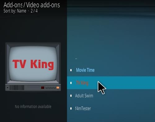 How To Install TV King Kodi Addon Step 17