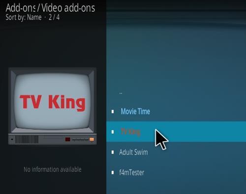 How To Install TV King Kodi Addon Step 17