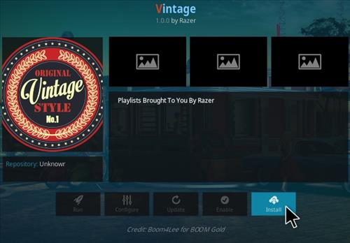 How To Install Vintage Kodi Addon Step 18