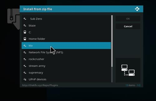 How to Install Blockbuster Unbranded Kodi Add-on 11