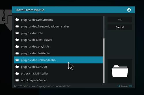 How to Install Blockbuster Unbranded Kodi Add-on 12