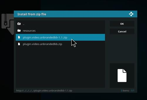 How to Install Blockbuster Unbranded Kodi Add-on 13