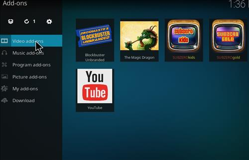 How to Install Blockbuster Unbranded Kodi Add-on 15
