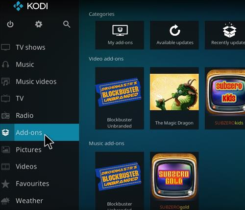 How to Install Blockbuster Unbranded Kodi Add-on 8