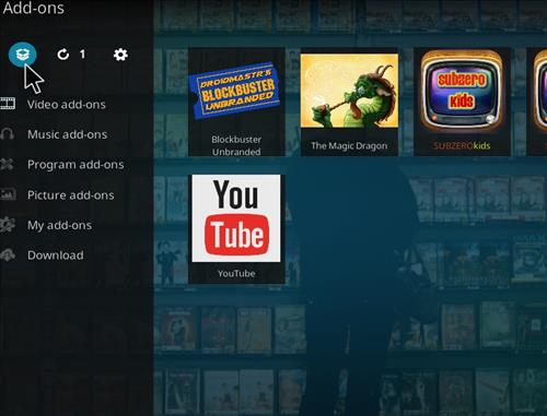 How to Install Blockbuster Unbranded Kodi Add-on 9