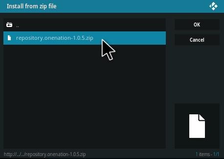 How to Install Continuum Kodi Build Step 12