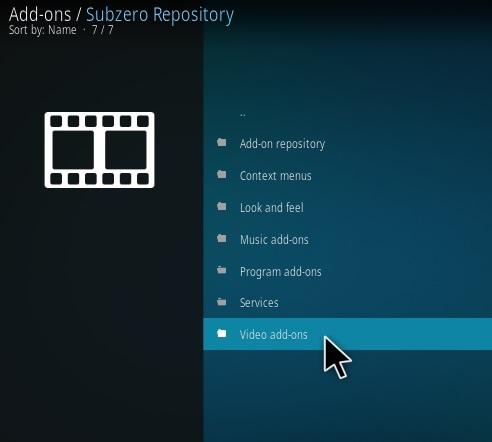 How to Install Subzero Gold Kodi Addon Step 16