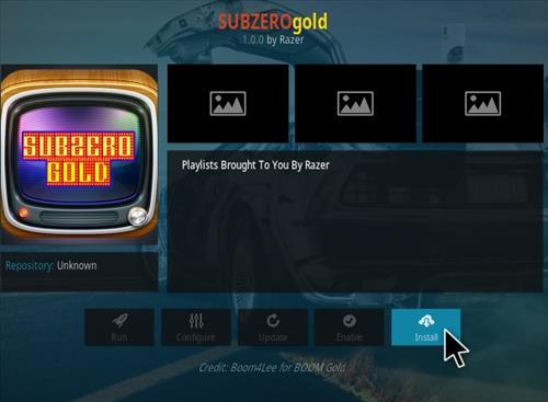 How to Install Subzero Gold Kodi Addon Step 18