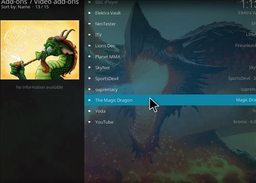 How to Install The Magic Dragon Kodi Add-on 18