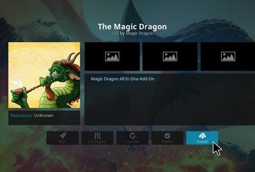 How to Install The Magic Dragon Kodi Add-on 19
