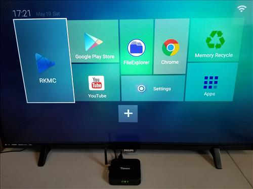 Review Tanix TX28 Android TV Box RK3328 4GB RAM Luncher