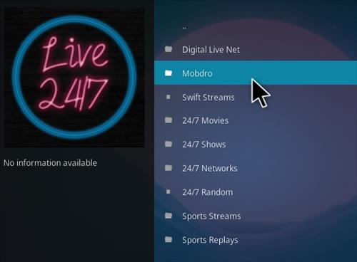 How To Install 24 7 Live Kodi Addon Overview