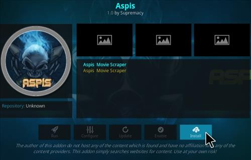 How To Install Aspis Kodi Addon Step 19