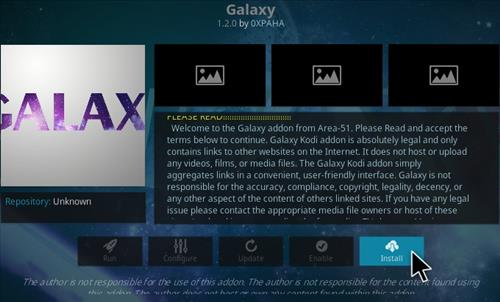 How To Install Galaxy Kodi Addon Step 18