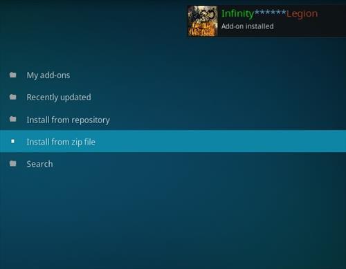 How To Install Infinity Legion V New Live TV Kodi Addon | WirelesSHack