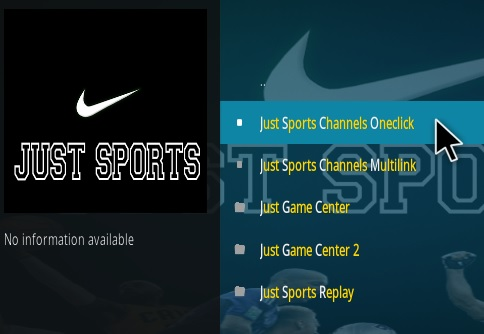 How To Install Just Sports Kodi Addon Overview