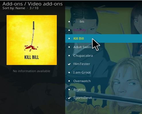 How To Install Kill Bill Kodi Addon Step 21