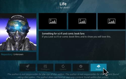 How To Install Life Kodi Addon Step 19
