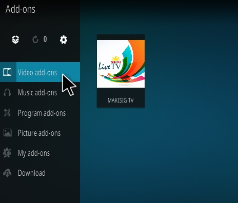 How To Install Makisig TV Kodi Addon Step 14