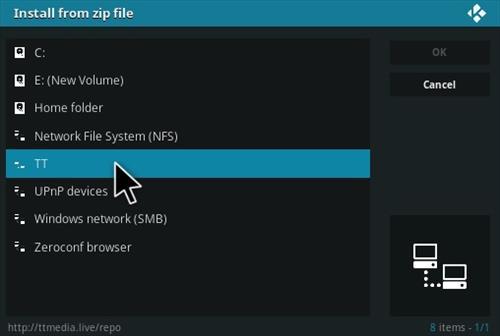 How To Install Now TV Kodi IPTV Addon Step 11
