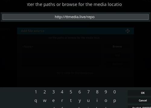 How To Install Now TV Kodi IPTV Addon Step 5
