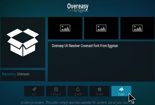 How To Install Overeasy Kodi Addon New Step 18