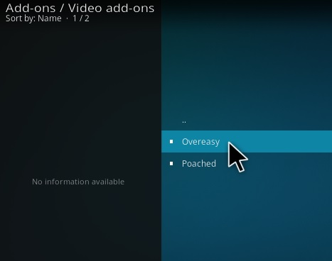 How To Install Overeasy Kodi Addon Step 17