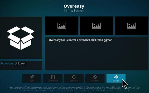 How To Install Overeasy Kodi Addon Step 18