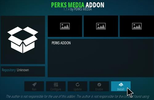 How To Install Perks Media Kodi Addon New URL Step 18
