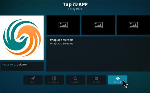 How To Install Tap TV Kodi Addon Step 18
