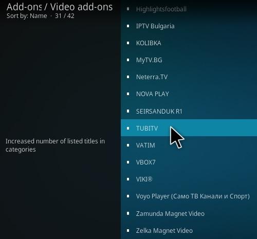 How To Install Tubi TV Kodi Addon Step 17