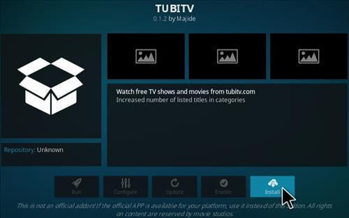 How To Install Tubi TV Kodi Addon Step 18