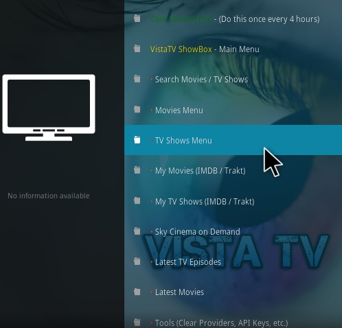 How To Install VistaTV ShowBox Kodi Addon Overview