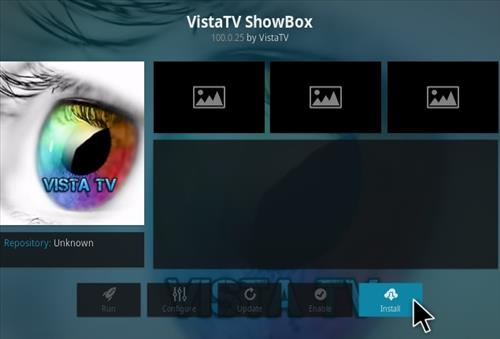 How To Install VistaTV ShowBox Kodi Addon Step 18