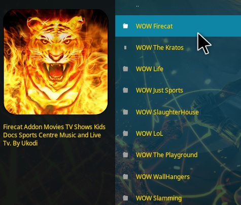 How To Install WOW Kodi Addon Overview