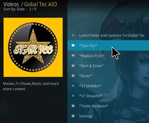 How to Install Global Tec Kodi Addon Overview