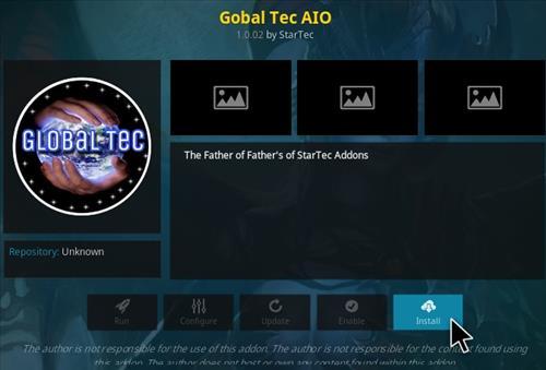 How to Install Global Tec Kodi Addon Step 19