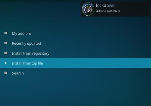 How to Install Lock and Load Kodi Addon Step 13