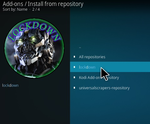 How to Install Lock and Load Kodi Addon Step 15