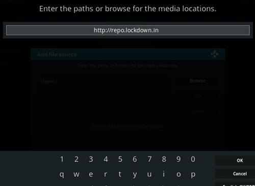 How to Install Lock and Load Kodi Addon Step 5