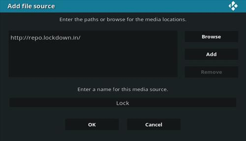 How to Install Lock and Load Kodi Addon Step 7