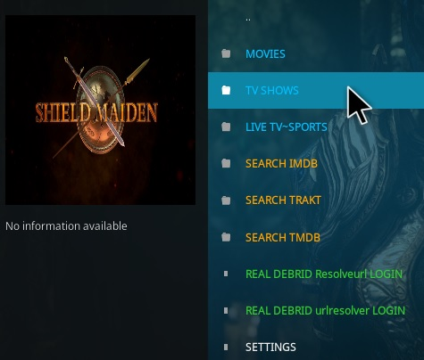 How to Install Shield Maiden Kodi Addon Overview