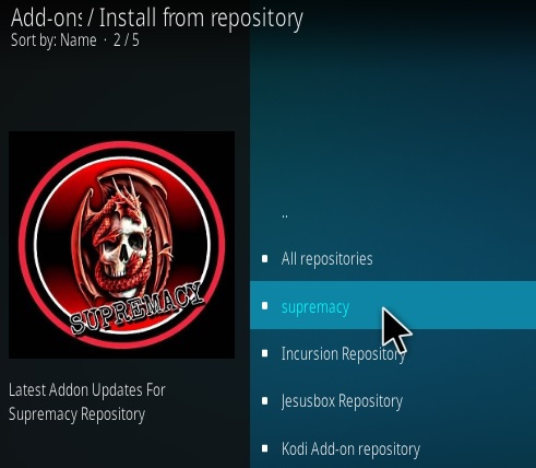 How to Install The Magic Dragon Kodi Add-on Ne 2018 Step 16