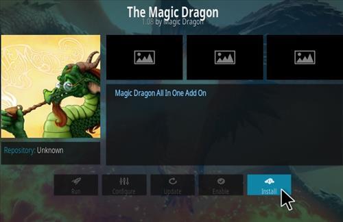 How to Install The Magic Dragon Kodi Add-on Ne 2018 Step 19