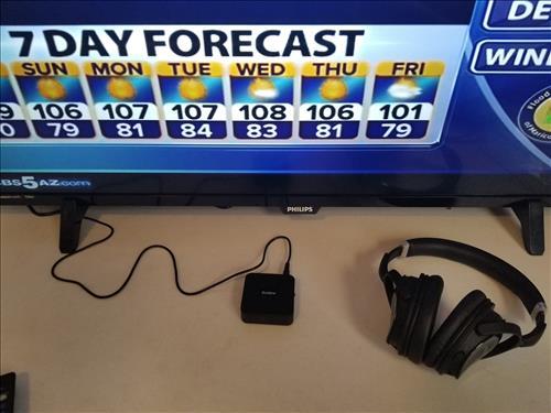 Review AUDEW Bluetooth 4.1 Transmitter Receiver Wireless Audio Adapter TV Pair
