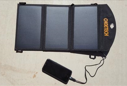 Review CHOETECH 19W Solar Panel Charger